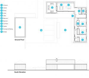 House LH Floor Plan